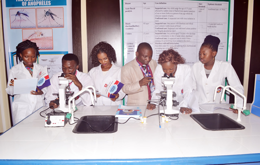 UNIMED Students in the Community Medicine Laboratory